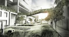 Ecological Relationalism on Behance Chicago Neighborhoods, Urban Design, Ecology, Architecture Details, The Fosters, Sustainability, Perspective, The Neighbourhood, Environment