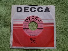 Northern��������GROVER MITCHELL -There's only one way��DECCA 45s❤️����Soul