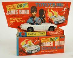 James Bond 2000GT Toyota, Corgi, 1967