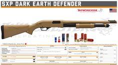 Winchester Repeating Arms - SXP Dark Earth Defender Shotguns, Firearms, Earth Defender, Energy Sword, Tactical Shotgun, Hanuman Wallpaper, Custom Guns, Weapon Concept Art, Military Weapons