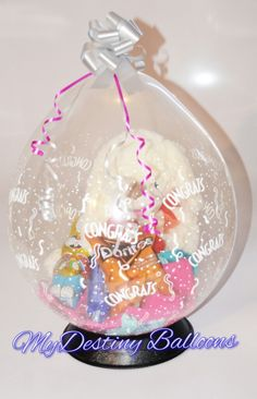 Balloon gift wrapping - Birthday Gift