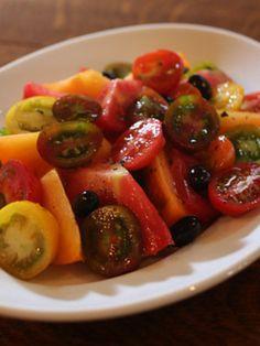 「ミックストマトサラダ」のレシピ by ヒグッチーニさん | 料理レシピブログサイト タベラッテ