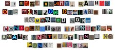 Cool Site: Ransom Note Generator » Man Made DIY | Crafts for Men « Keywords: ransom, note, generator, app