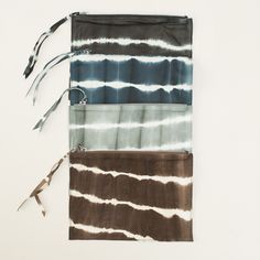 Cloth & Goods - Tie Dye Leather Bags