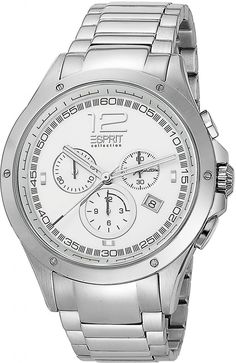 Esprit el101421f07 Men's & Women's Watch | Souq - Egypt Rolex Watches, Watches For Men, Fendi, Gucci, Herren Chronograph, Moncler, Men And Women, Missoni, Stainless Steel Case
