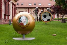 The Chocolate Museum garden of- Budapest, Hungary