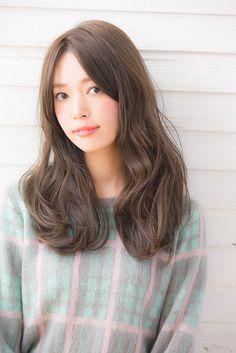 【銀座 美容室 drive for garden 竹澤優】前髪なしニュアンスパーマ