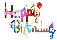 Happy Birthday PNG Clip Art Image