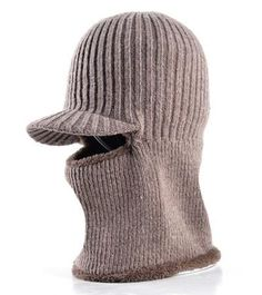 52ecafdc7ea THICKENING KNITTED WOOL CAP MEN S WINTER HAT KEEP WARM BEANIES MEN BONNET  BALACLAVA FACE MASK HATS