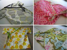 Very cute!                                         http://habitual.wordpress.com/kimono/                 Simple Kimono Wrap tutorial by Amy Finlayson