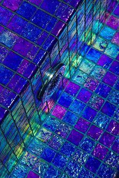 Aqua Blue Glass Mosaic Tile | ... Glass Tile | Renaissance Collection Royal Blue Glass Tiles