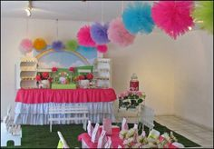 baby tv party Birthday Party Ideas | Photo 9 of 9 | Catch My Party