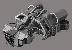Infinity Battlescape - SFC bomber by Tinnenmannetje.deviantart.com on @deviantART