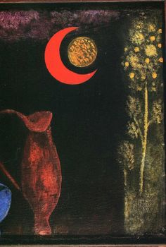 Red moon is one of artworks by Paul Klee. Artwork analysis, large resolution images, user comments, interesting facts and much more. Kandinsky, Art Dégénéré, Artist Art, Paul Klee Artwork, Face Illustration, Art Moderne, Oeuvre D'art, Painting & Drawing, Painting Lessons