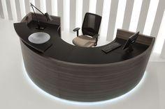 Furonto reception desk Lada recepcyjna Furonto #receptiondesk