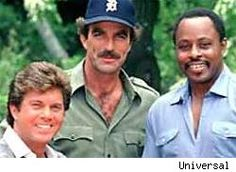 I met Roger E. Mosley(on the right) at an air show awhile after the show stopped airing...what's he up to now???