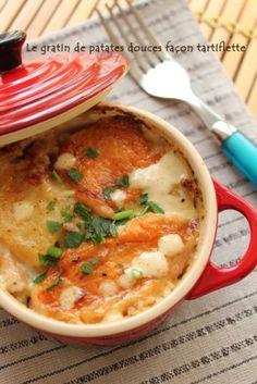 Cette recette de gratin de patate douce aux lardons pourrait s'appeler la recette de fond de placards ou la recette de fin de mois. En effet, j'ai élaboré ce gratin de patate douce un midi alors que dans mon placard traînaient une patate douce et une pomme de terre. Bon ensuite, je vous l'accorde, il ...