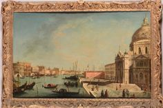 Giovanni Antonio Canal called Canaletto (Venice 1697-1768) workshop of, View of the [...], Furnishings and Paintings from Palazzo Corner Spinelli in Venice (Genova) à Cambi Casa d'Aste | Auction.fr