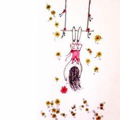 """""""Procuramos sempre o peso das responsabilidades, quando o que na verdade almejamos é a leveza da liberdade."""" 🌺💛 Milan Kundera  #illustration #drawing #inspiration #creative #art #artdaily #sketch #artwork #nature #sketchingtime  #vivaaarte #ilustracao #croqui  #instaillustration #ilustracao #design #artemotion #instaartemovement  #irisscuccatoilustracao"""