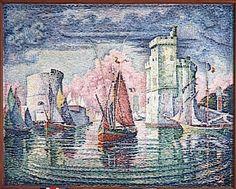 Paul Signac (1863-1935)  Entrée du port de la Rochelle  1921  Huile sur toile  H. 130,5 ; L. 162 cm  Paris, musée d'Orsay  Legs de Mme Ginette Signac, 1980