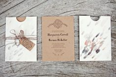 Bohemian Texas ranch wedding invitations inspired by longhorn cattle with a feather. Watercolored folk art. Via Magpie Paper Works : Photo by The Nichols.