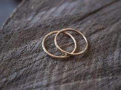 Minimalist gold rings stack perfectly for everyday wear. These dainty thin gold rings are lightly textured. Thin Gold Rings, Silver Rings, Gifts For Her, Great Gifts, Stacking Rings, Gold Jewelry, Stud Earrings, Amazing Gifts, Ear Gauge Plugs