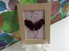 Ballerina painting watercolour ballerina art by PetalcraftArt