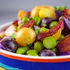 Pea, Potato and Bacon Salad recipe