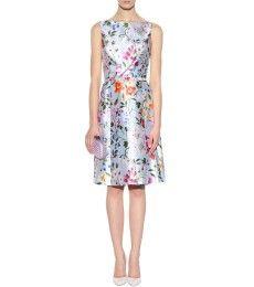 Oscar de la Renta - English Garden Print Mikado dress - mytheresa.com € 1,389