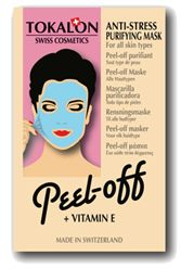 Masque facial anti-stress peel-off - Tokalon Le Site, Anti Stress, Vitamin E, Eve, Facial, Products, Facial Care, Face Care, Gadget