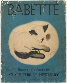 キュリオブックス 【BABETTE】Story and pictures by Clare Turley Newberry