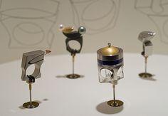 Kinetic rings by Michael Berger
