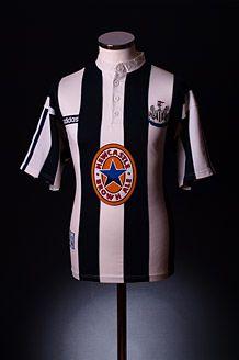 0b302f3cec4 Newcastle United Home Adidas Season: 1995-97 Classic Football Shirts,  Football Tops,