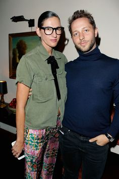 Jenna Lyons and Derek Blasberg