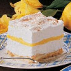 Lemon Schaum Torte Recipe