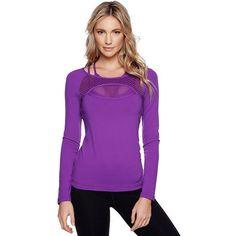 Lorna Jane Bliss Excel tişört, dar kesimi ve uzun kollu tasarımı ile bu soğuk havalarda spor yapmak için en ideal seçim! Detaylı bilgi ve online alışveriş için Stilefit.com'a tıklayın.