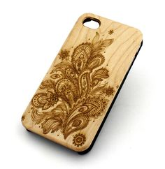 REAL GENUINE WOOD Organic Snap On Case Cover for IPHONE 4 4S 5 5S – milkyway