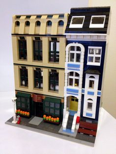 Modular Lego Bookstore, Office & Townhouse