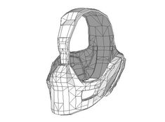 Life Size Superior Iron Man Helmet Papercraft for Cosplay Free