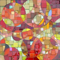 Mosaic Art Panels by Jennifer Kuhns, via Behance