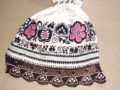 Dámské rukávce, Kyjovsko.  Folk clothing from Kyjovsko (Czech Republic).