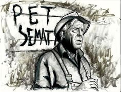 Pet Sematary Stephen King Print From Original by johnnierosalesjr, $5.00