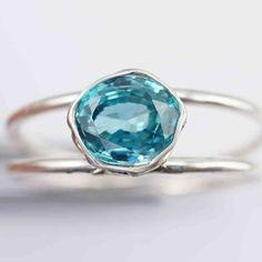Zirkon Ring