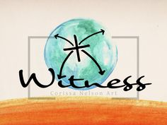 Witness - Easter Acts Series - Yr A — Corissa Nelson Church Graphic Design, Pentecost, Art File, Persecution, Worship, Acting, How To Draw Hands, Vibrant, Digital Art