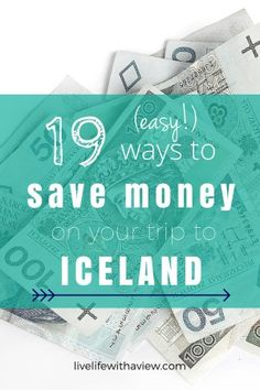 Trying to budget your trip to Iceland? Want to experience Iceland but not by spending all your money? Click here for 19 easy tips for helping you travel in Iceland without breaking the bank! | Life With a View www.livelifewithaview.com