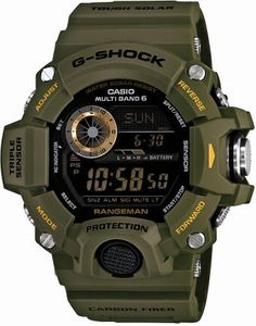 カシオ Casio G-SHOCK MASTER OF G RANGEMAN Triple Sensor Ver.3 Multiband 6 Solar - Tactical Men's Watch GW-9400J-3JF (Japan Import) 男性 メンズ 腕時計 【並行輸入品】