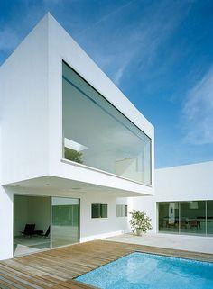 villa-m2_modern minimalist-house design_14 by furniture and architecture, via Flickr