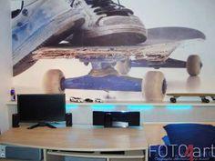 Fotobehang Skateboard voor de jongenskamer