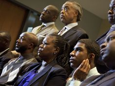 """A call for peace from Rev Al Sharpton, regardless of verdict in Zimmerman trial:  """"Let me be very clear, from the beginning of this when I was called [by the Martin family] and came in just to say this should go to trial and should not be decided in a police station, this family has said 'We believe in peace, and we believe in trying the criminal justice system.'"""""""