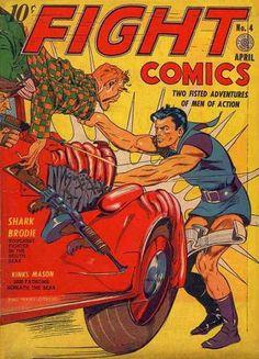 Adventures - Action - Men - Comic - Car